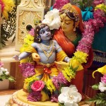 Mother Yashoda and Krishna
