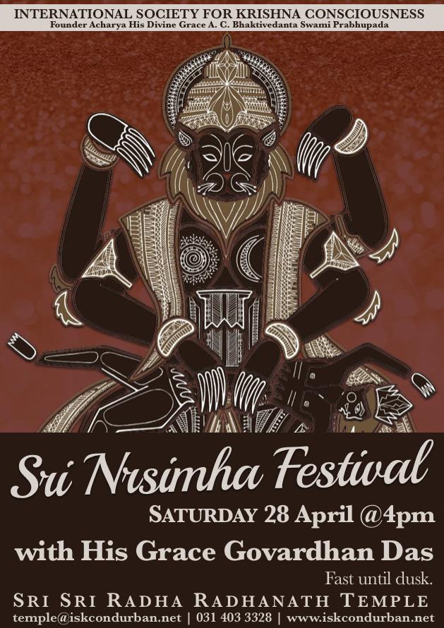 Lord Nrsimha Festival