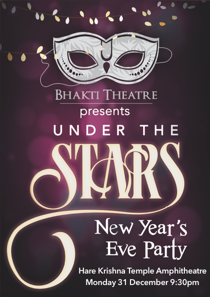 New Year's Eve with Bhakti Theatre