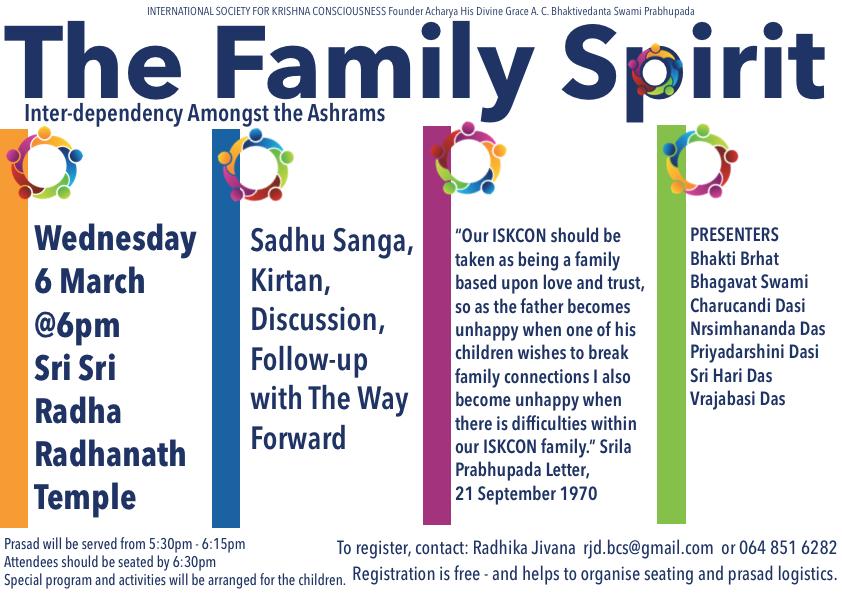 The Family Spirit Seminar