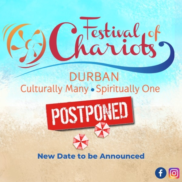 Postponed NOT Cancelled!