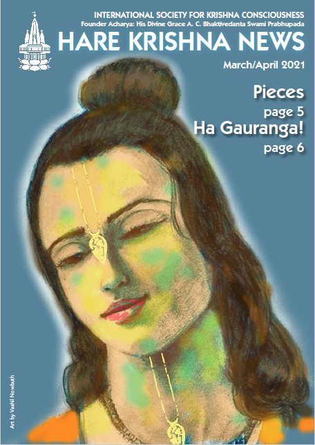 March/April 2021 Hare Krishna News