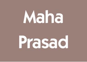 Maha Prasad