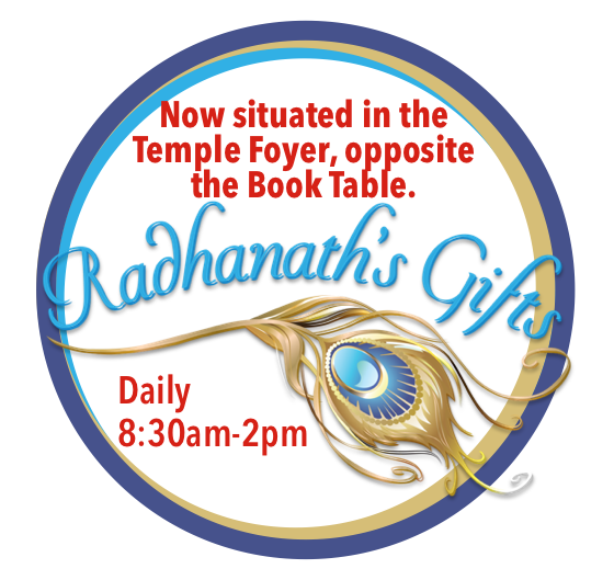 Radhanath's Gifts New Trading Times